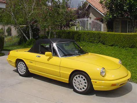 1992 Alfa Romeo Spider Veloce Convertible