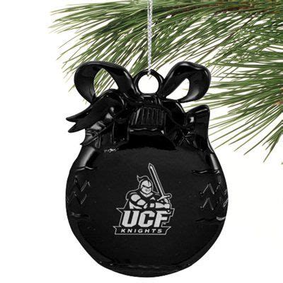 ucf knights christmas ornament black flats and catalog on