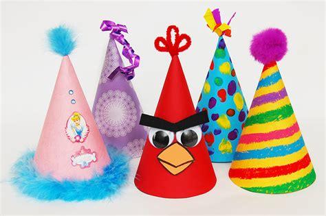 birthday hat kids crafts fun craft ideas