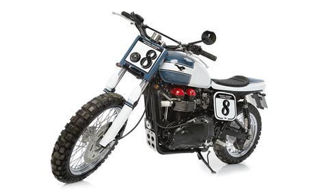 Triumph Scrambler Tracker By Tamarit Motorcycles