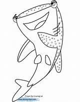 Finding Coloring Pages Printable Dory Nemo Destiny Disney Hank Marlin Disneyclips Pixar Getcolorings Funstuff sketch template
