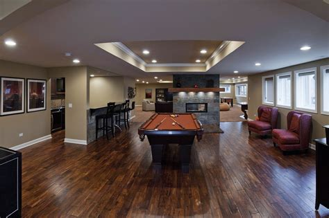 chad michelles basement remodel pictures home
