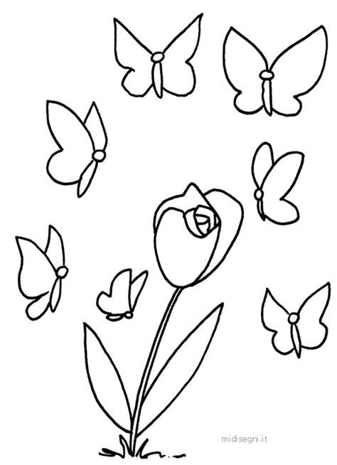 midisegni fiori disegni da stare e colorare fiori disegni da colorare