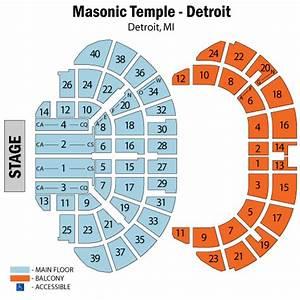 Masonic Seating Chart Jack White Saves Detroit Masonic Temple Gets Theater