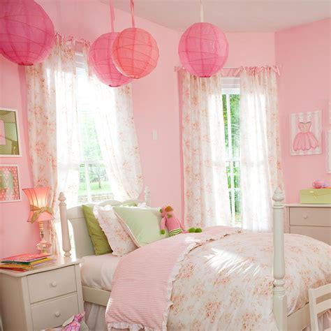 pink floral drape panel carousel designs