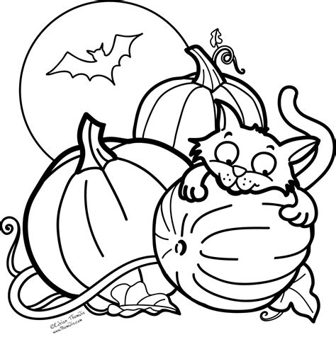 halloween coloring pages coloringsuitecom