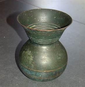 Vintage, Copper, Vase, Jug, Pal, Bell, Israel, 1950, U2019s, Signed