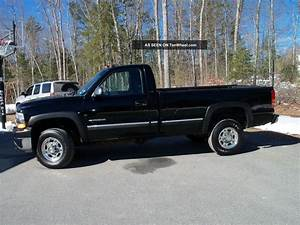 2002 Chevy 2500 Hd 6  0 V8 With Plow