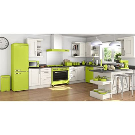 swan retro manual microwave  litre   lime green