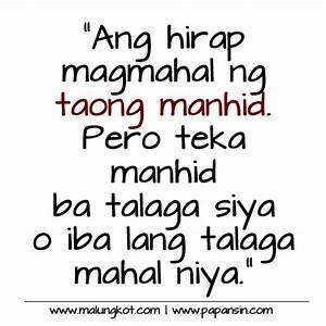 Patama Quotes Sa Manhid. QuotesGram