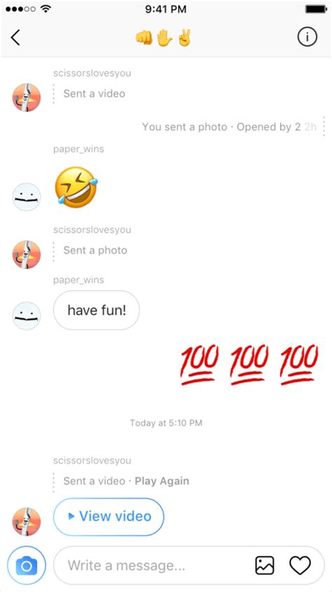 instagrams latest update  sliding  dms easier