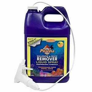 ROMAN Piranha 1 gal. Ready to Use Liquid Wallpaper Remover ...