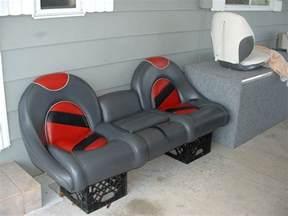 Reversible Bench Seat Boat