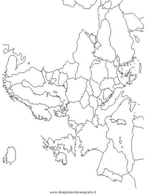 Cartina Europa Muta Da Stampare