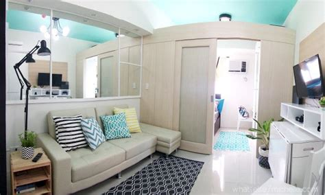 One Bedroom Condo Design Ideas by Light And Airy 23 Sqm Condo Unit What Else