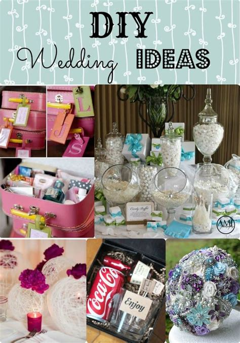 diy wedding ideas keep your budget under control with