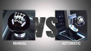 Throwdown Thursday  Manual Vs  Automatic Transmissions
