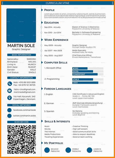 Cv Template Word by 5 Engineer Cv Template Word Waa Mood