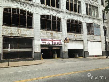 Halle Garage  Parking In Cleveland Parkme