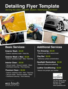 Boat Detailing Flyers by Auto Detailing Flyer And Template Car Detailing