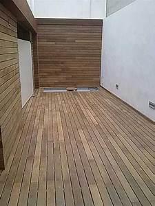 tarima exterior madera natural ipe parquet las palmas With parquet de jardin