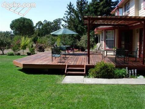 elevation deck picture gallery gardens