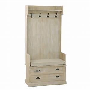 Meuble D Entrée Pas Cher : charming meuble d entree pas cher 8 meuble portemanteau 2 tiroirs 90x40x180cm sandra ~ Teatrodelosmanantiales.com Idées de Décoration
