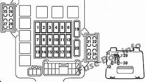 Fuse Box Diagram  U0026gt  Mitsubishi Pajero  V80  2006