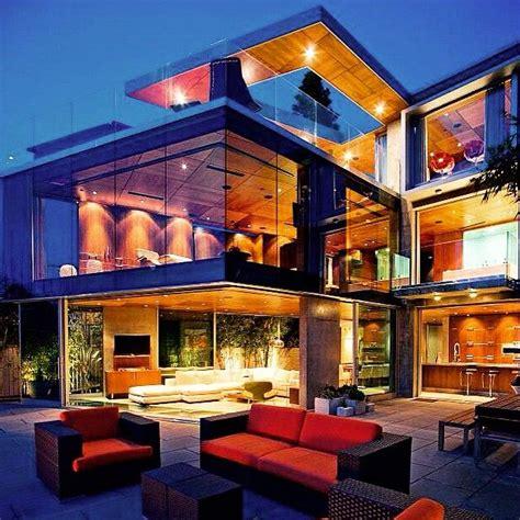 Impressive Glass House In California by Wowza Glass Mansion In California D R є α ʍ H օ ʍ E