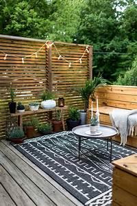1001 ideen fur terrassengestaltung modern luxurios und With balkon teppich mit tapete auto