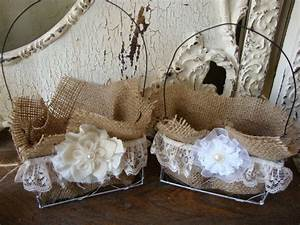 Pinterest for Burlap and lace wedding decorations