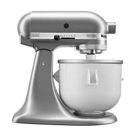 ice cream mixer stand kitchenaid aid kitchen maker attachment ecscoffee