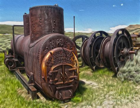 Old Mining Equipment 03 Painting By Gregory Dyer Antique Wood Burning Stove Parts How To Clean Porcelain Identify Figurines Show Nashville Tn 2017 Black Style Bedroom Furniture Haviland Limoges China Patterns License Plates Rules Va Drawer Pulls Restoration Hardware