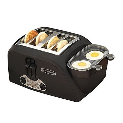 Back To Basics Egg And Muffin Toaster - egg n muffin toaster for morning breakfast