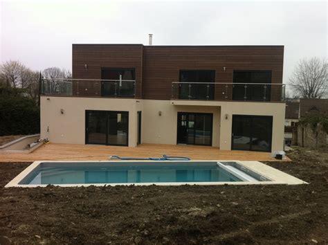 maison ossature bois contemporaine lagny sur marne ecoconcept construction