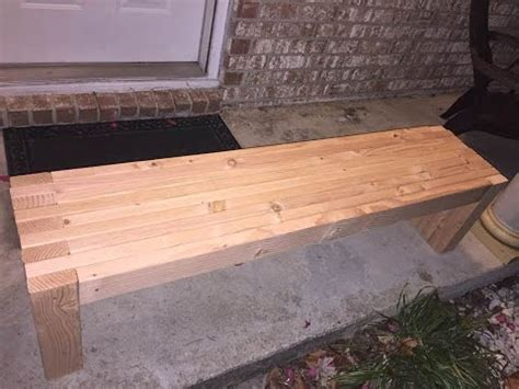 simple   bench seat woodworking diy