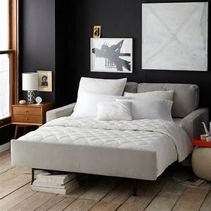spring it west elm and sleeper sofas on pinterest With sofa bed without springs