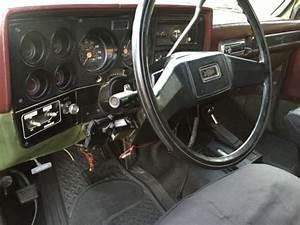 1985 M1009 D10 Military Blazer 6 2l Diesel Black K5 4x4