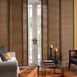 sliding door window treatments on