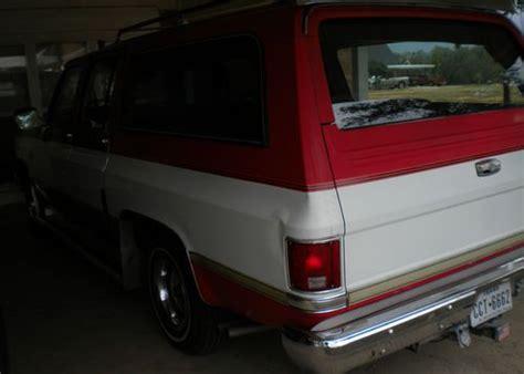 Sell New 1982 Chevy Suburban Silverado In Castroville