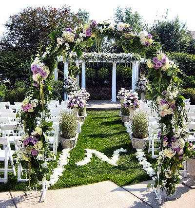 Garden Decoration Wedding by 11 Outdoor Wedding Decoration Ideas Ideas