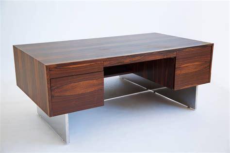milo baughman rosewood desk milo baughman rosewood executive desk at 1stdibs