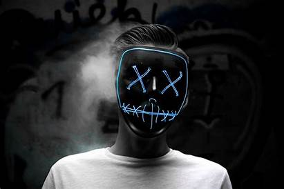 Mask Purge Led Wallpapers Wallpaperaccess Backgrounds