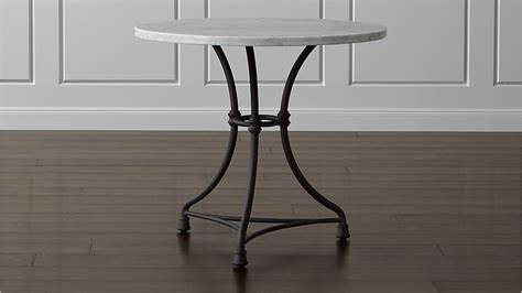 French Kitchen Round Bistro Table  Crate And Barrel