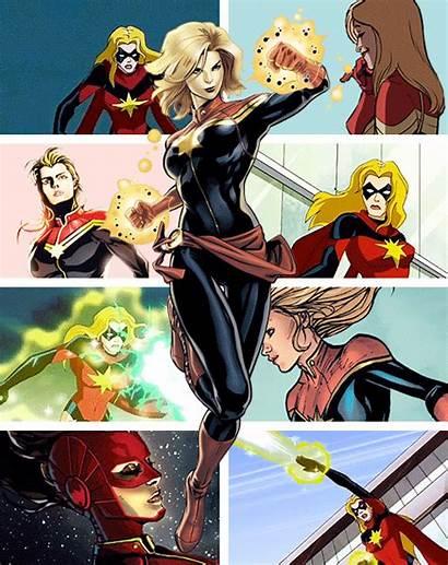 Marvel Captain Carol Comic Danvers Ms Comics