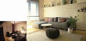 Wohnzimmer Vorher Nachher : wohnzimmergestaltung vorher nachher wohn design ~ Watch28wear.com Haus und Dekorationen