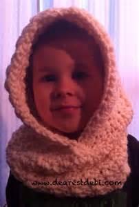 Free Bear Hooded Cowl Crochet Pattern