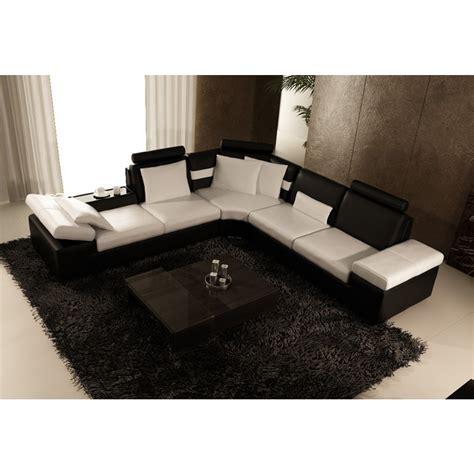 canape cuir luxe design canapé d 39 angle design en cuir pleine fleur monaco pop
