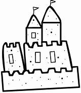 Sand Castle Sandcastle Clipart Drawing Clip Coloring Colouring Cliparts Castles Bulletin Words Clipartbest Wikiclipart Do2learn Boards Library Picturecards sketch template
