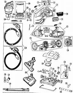 Hoover Model Sh40060 Vacuum  Canister Genuine Parts
